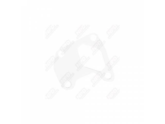 Steering Column Gasket, White Foam