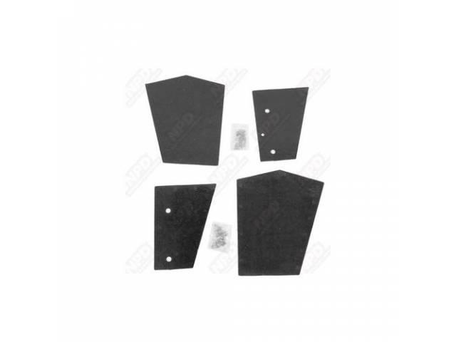 Splash Shield Kit Die Cut Rubber Covers A
