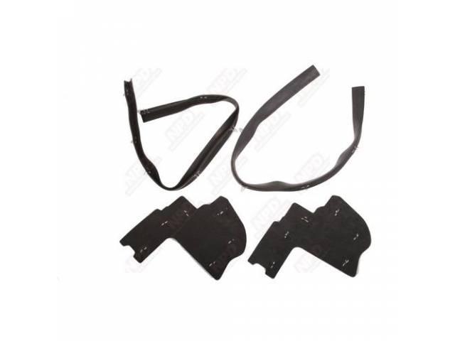 Splash Shield Kit, Fender Shield, Die Cut Rubber,