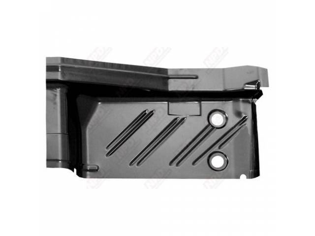Floor Pan, Rear Section, Rh, Edp Coated, Oe Style Repro, This Is The Section Located At The Rear Footwell Area