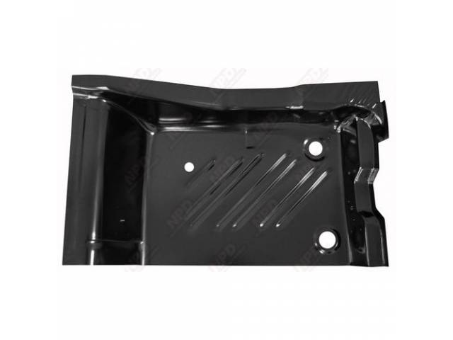 Floor Pan, Rear Section, Lh, Edp Coated, Oe Style Repro, This Is The Section Located At The Rear Footwell Area