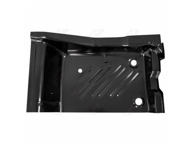 Floor Pan Rear Section Lh Edp Coated Oe