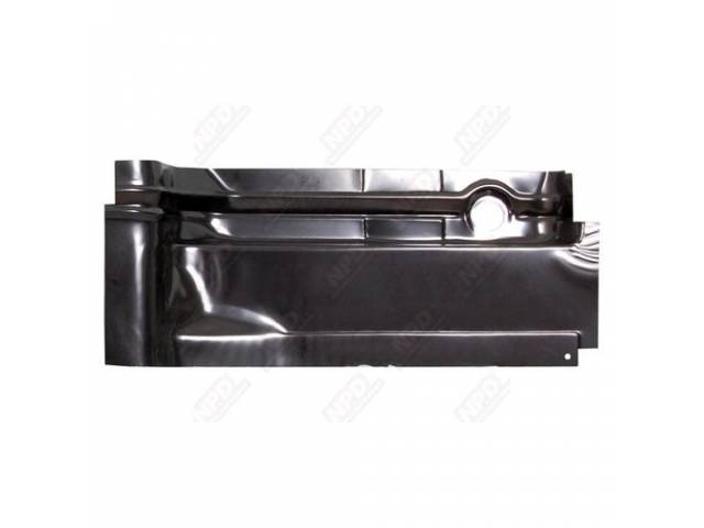 Floor Pan Rear Section Rh Edp Coated Oe