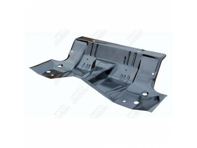 Floor Pan Under Rear Seat Complete Incl Transmission