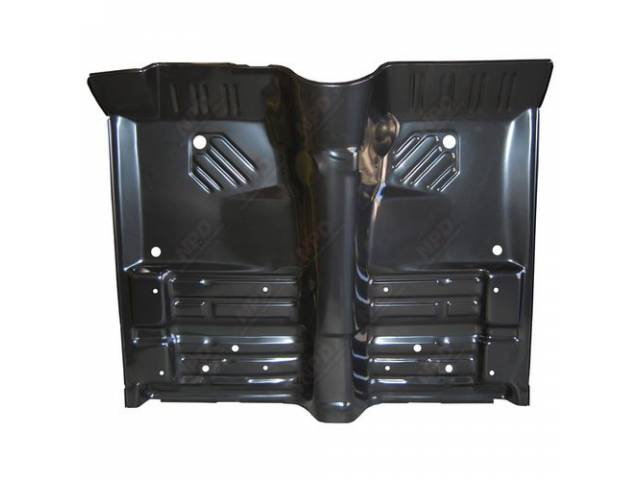 Floor Pan, Complete Front, Oe Style, W/ Flange,