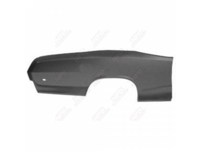 Rear Quarter Panel Rh Skin 19 Gauge Metal