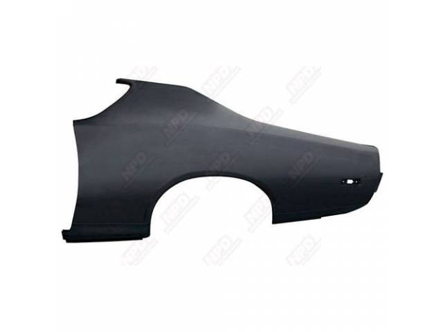 Quarter Panel, Factory Type, Lh, Offers Complete Oe