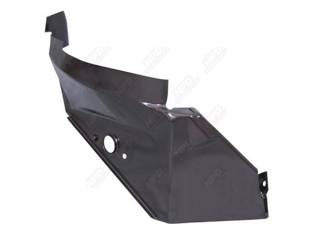 Reinforcement Quarter Panel Inner Lh Edp Coated Oe