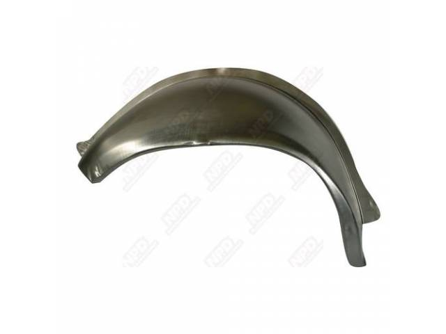 Wheelhouse, Rear Outer, Rh, 19 Gauge Metal, Us