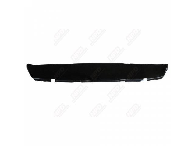 Panel Rear Valance W/O Exhaust Tip Cutouts Edp