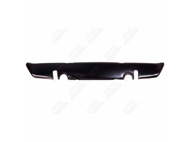 Panel, Rear Valance, W/ Exhaust Tip Cutouts, Edp Coated, Oe Style