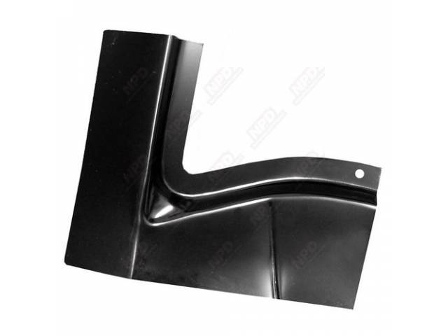 Patch Panel Rear Deck Filler Outer Lh Edp