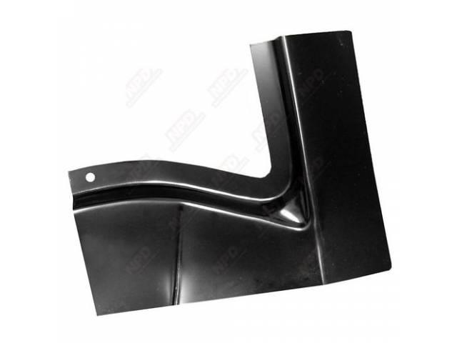 Patch Panel, Rear Deck Filler, Outer, Rh, Edp
