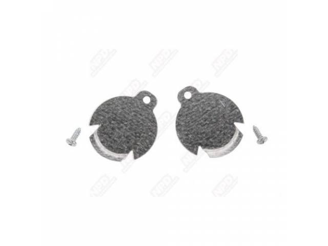 Body Plug Galvanized Steel Pair 1 1/2 Inch