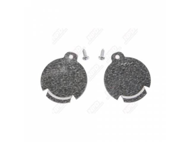 Body Plug Galvanized Steel Pair 1 3/4 Inch