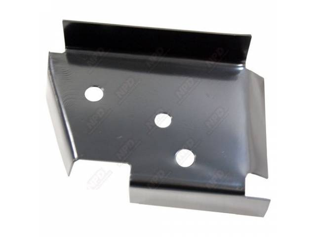 Extension Rear Crossmember Lh Edp Coated Oe Style