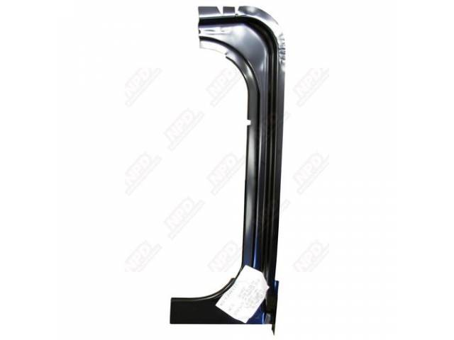 Gutter Rear Compartment / Trunk Weatherstrip Rh Quarter