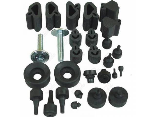 Bumper Kit Rubber Complete-Body Bumper Kit