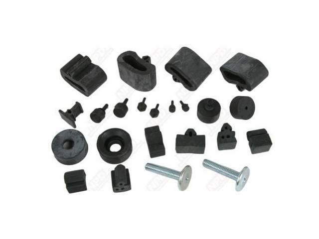 Bumper Kit Rubber Complete Repro