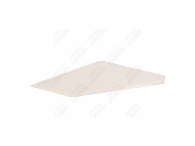 Sail Panel Board Covered White Headliner Material