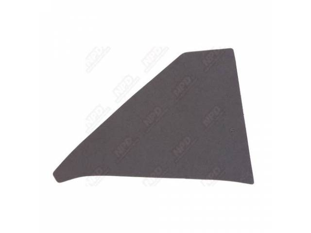 Sail Panel Board Uncovered Black Interior Panel Board