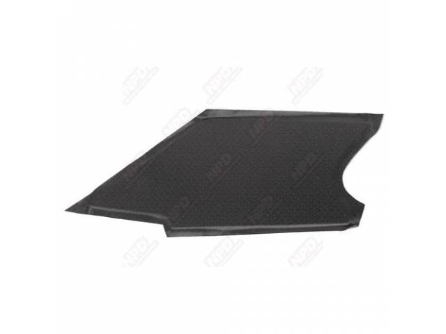 Sail Panel Board Covered Black