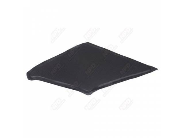 Sail Panel Board, Covered, Black