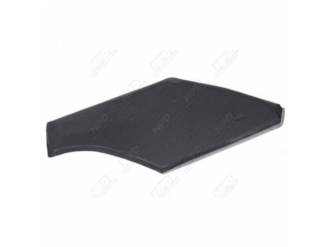 Sail Panel Board, Covered, Black Perforated, Headliner Material