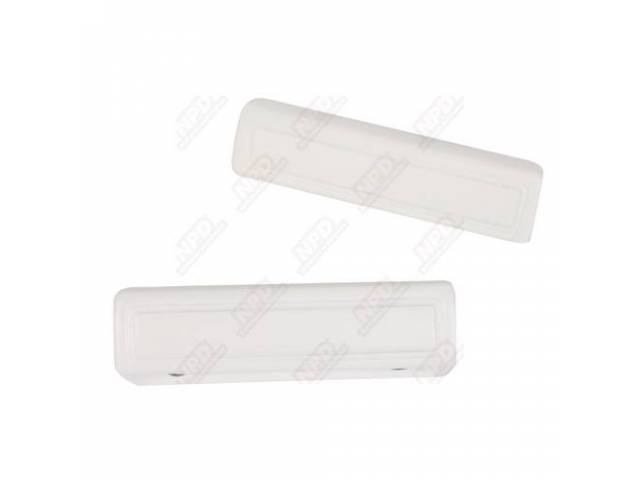 Arm Rest Pad 9 Inch White
