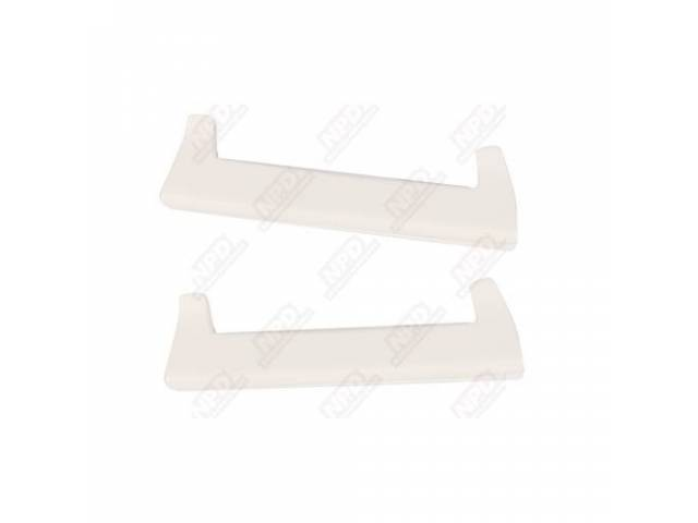 Arm Rest Pad White