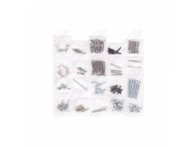 Screw Kit, Interior Trim,  (167), Screws Are