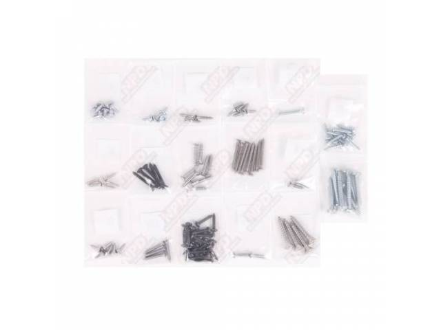 Screw Kit Interior Trim 104 Screws Are Packaged