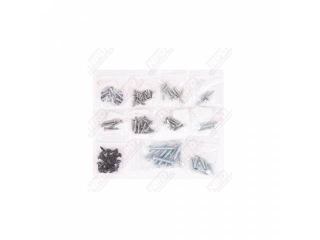 Screw Kit Interior Trim 95 Screws Are Packaged