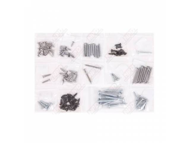 Screw Kit, Interior Trim,  (106), Screws Are