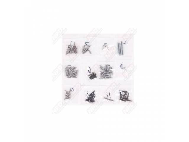 Screw Kit, Interior Trim,  (84), Screws Are