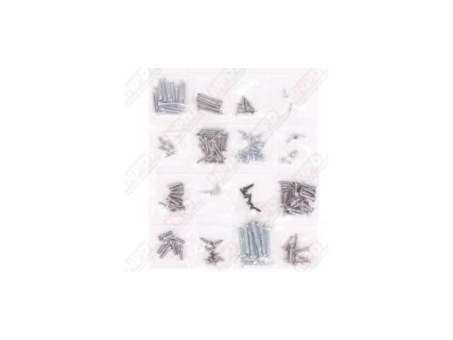 Screw Kit Interior Trim 139 Screws Are Packaged