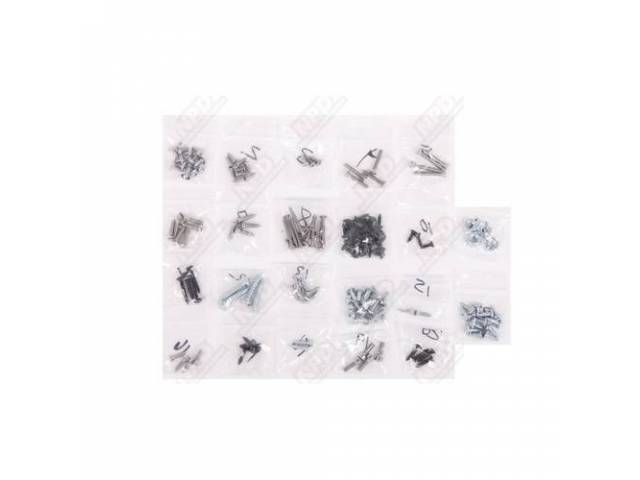 Screw Kit Interior Trim 145 Screws Are Packaged