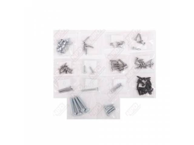 Screw Kit Interior Trim 83 Screws Are Packaged