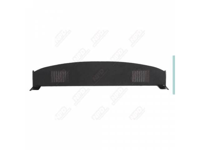 Package Tray Black With Speaker Slots