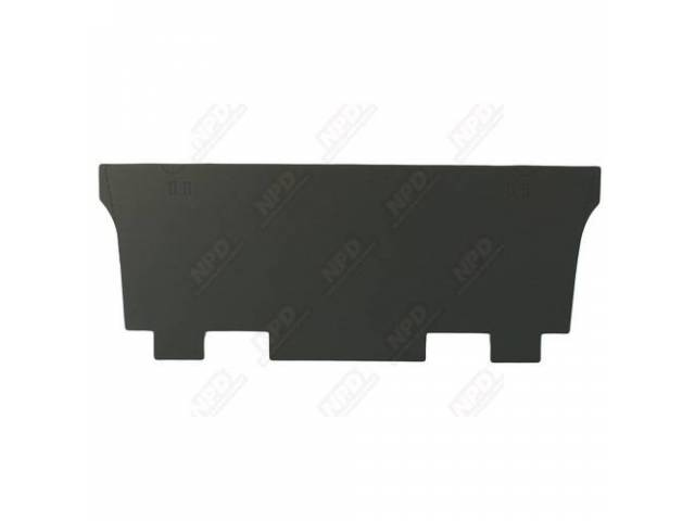 Divider Board Rear Seat To Trunk W/O Jute