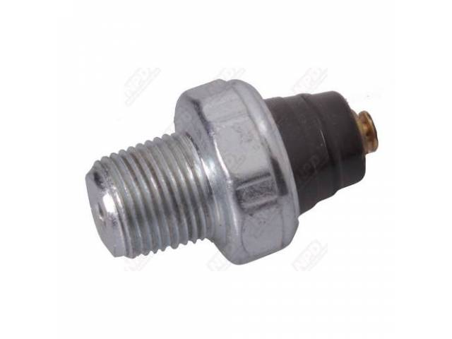 Oil Pressure Switch, With Warning Lights, 62-74 Six