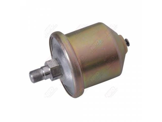 Oil Pressure Switch, With Gauges, 64-85 All Cars And V-8 Engines And 72-93 Dodge Trucks