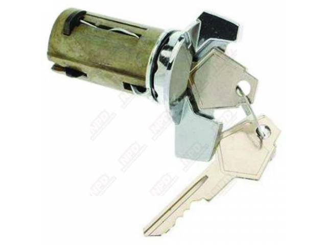 Ignition Lock And Key, With Tilt Wheel