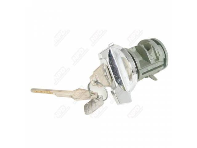 Ignition Lock And Key Without Tilt Wheels