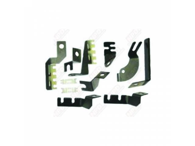 Spark Plug Wire Separator Kit Correct Coated Bracket
