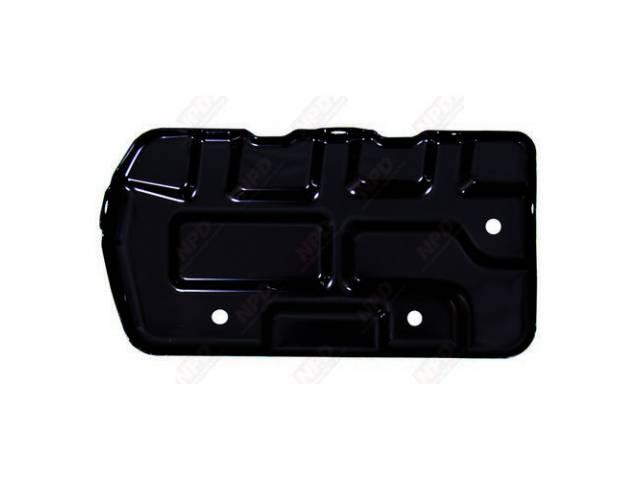 Tray Battery Black Edp Coated Exact Repro