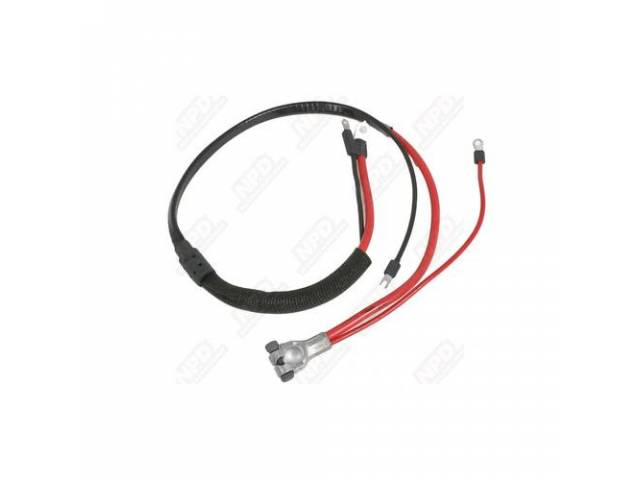 Cable Battery Positive Correct Style Terminals Molded Starter
