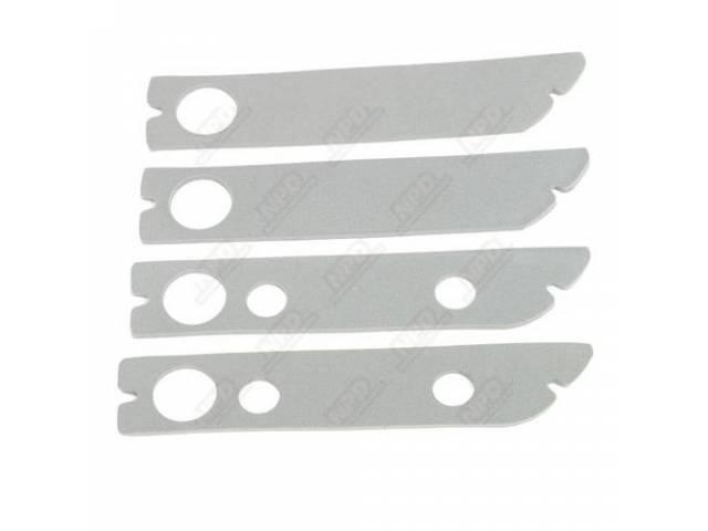 Gasket Set, Side Marker Light, (4) Dense Gray