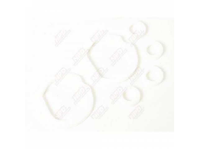 Gaskets Backup Light Housing White Foam Material