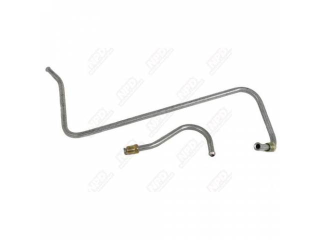 Fuel Line, Pump To Carb, 318 With 2-Barrel